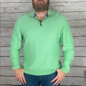 Daniel Cremieux Green Pull Over Sweater XL